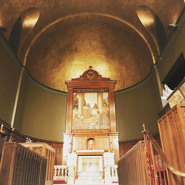 Churchy church...bein' really churchy #stdavids #dressrehearsal #ishallneverbedifferent