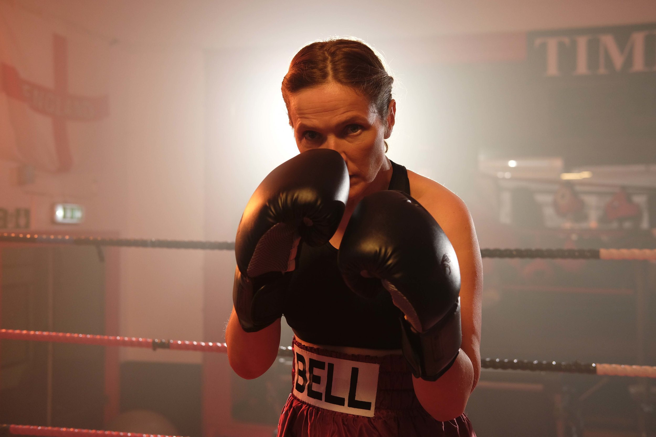 Jessica Hynes in The Fight, Photo: Gareth Gatrell
