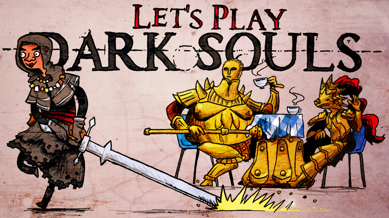 Video thumbnail for Let's Play Dark Souls by KalonZombie, 2018