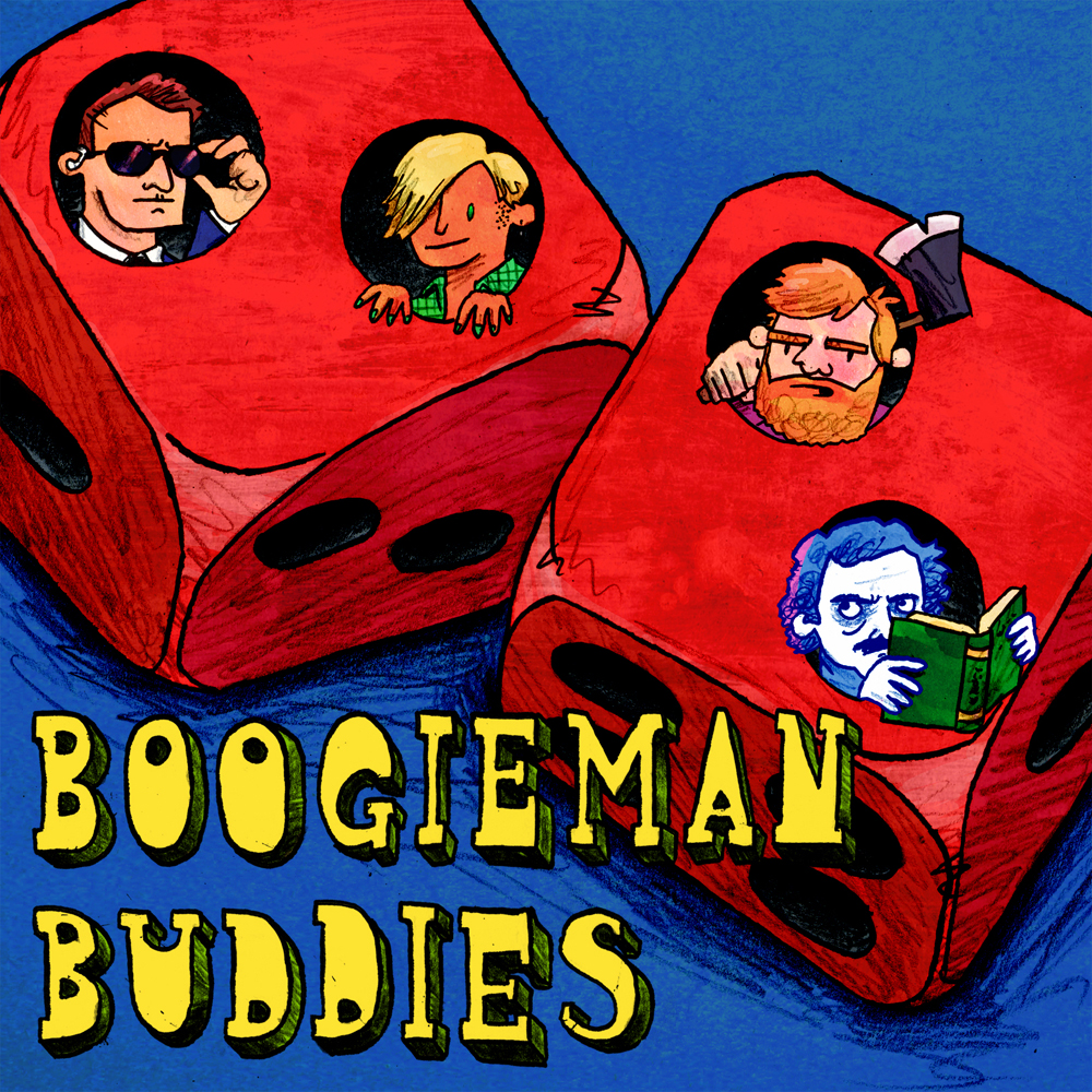 Avatar/Preview image for tabletop game podcast Boogieman Buuddies, 2019