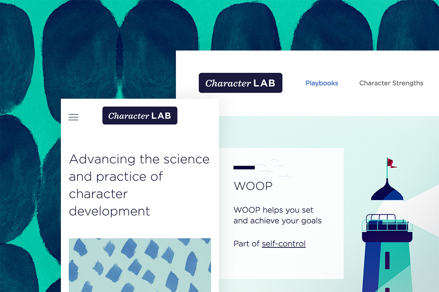 Character Lab Squarespace Website