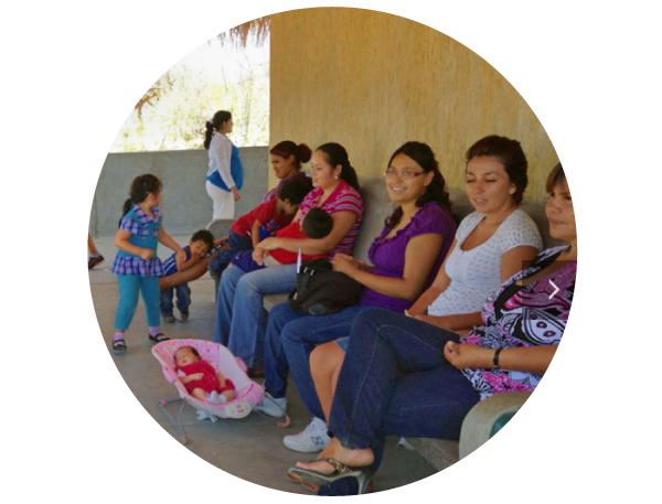 The health clinic in El Cardonal, Baja California Sur, Mexico   →