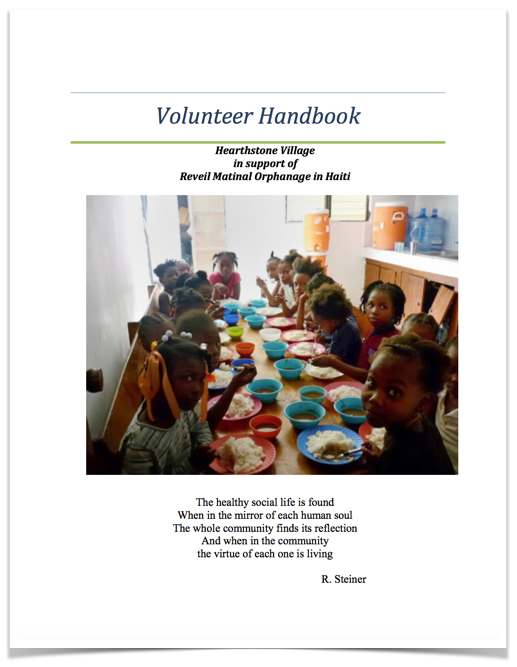 Our  volunteer handbook  is available to prepare travelers for their trip to Haiti.