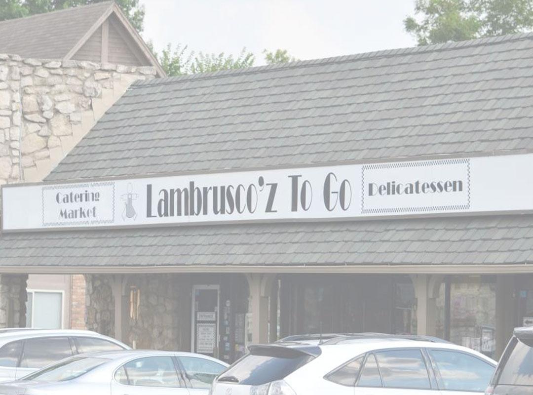 Lambrusco'z - TULSA, OKDRIP // COLD BREW // WHOLE BEAN