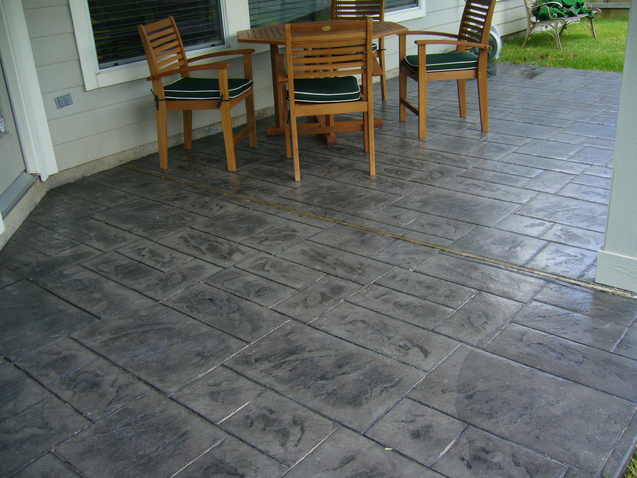 Quarter inch stamped concrete existing surface.jpg