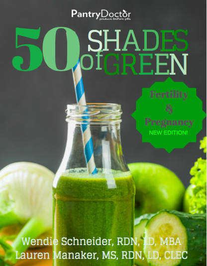 50 Shades of Green Smoothie Guide for Fertility and Pregnancy - This was a collaboration with a colleague and myself to create the ultimate guide for women and men who are ttc, as well as pregnant women. This guide begins with smoothie tips to help create the ultimate smoothie that is safe and helpful. It then provides 50 smoothie recipes that focus on topics like fertility-boosting, mood-boosting, and male fertility. Check it out here.