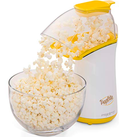 Pop corn popper - DYK that whole grain intake is related to improved endometrial thickness? Did you also know that popcorn is considered a whole grain? Don't use the microwavable bags you get at the grocery store…they can be ridden with chemicals that you just don't want in your body RN. Popcorn is also a great treat while you curl up and watch a dumb movie to take your mind off of things. Check this one out here