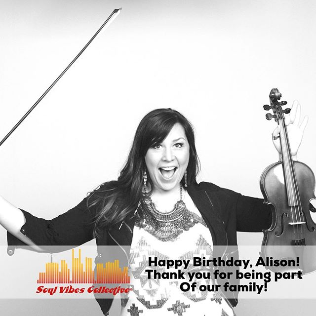 Happy birthday @alisonbrazilmusic - hope you have a day as beautiful as you are!