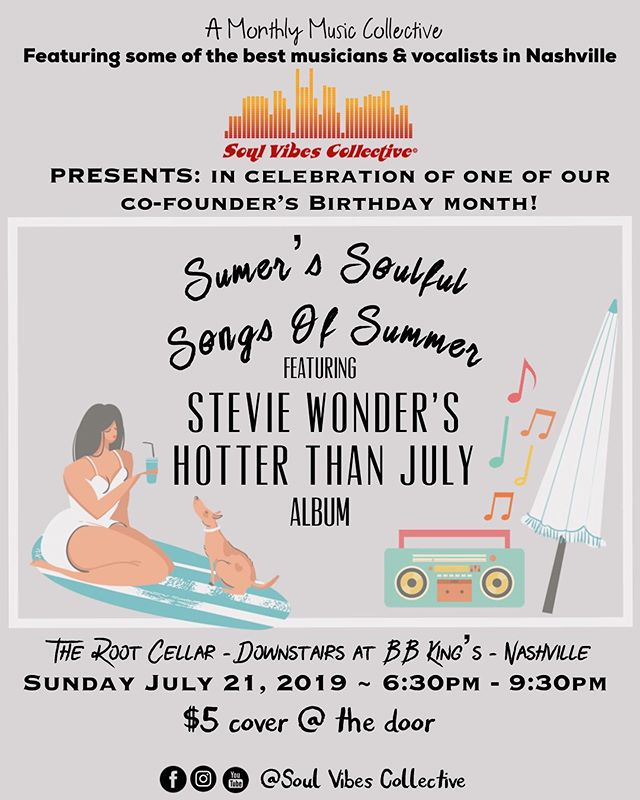 Come celebrate summer after the @thenammshow - it's gonna be a party as we also celebrate or Co-Founder @sumerstar birthday month! And guess who's coming back from Florida... just to be here and host this awesome show!?!?!?
