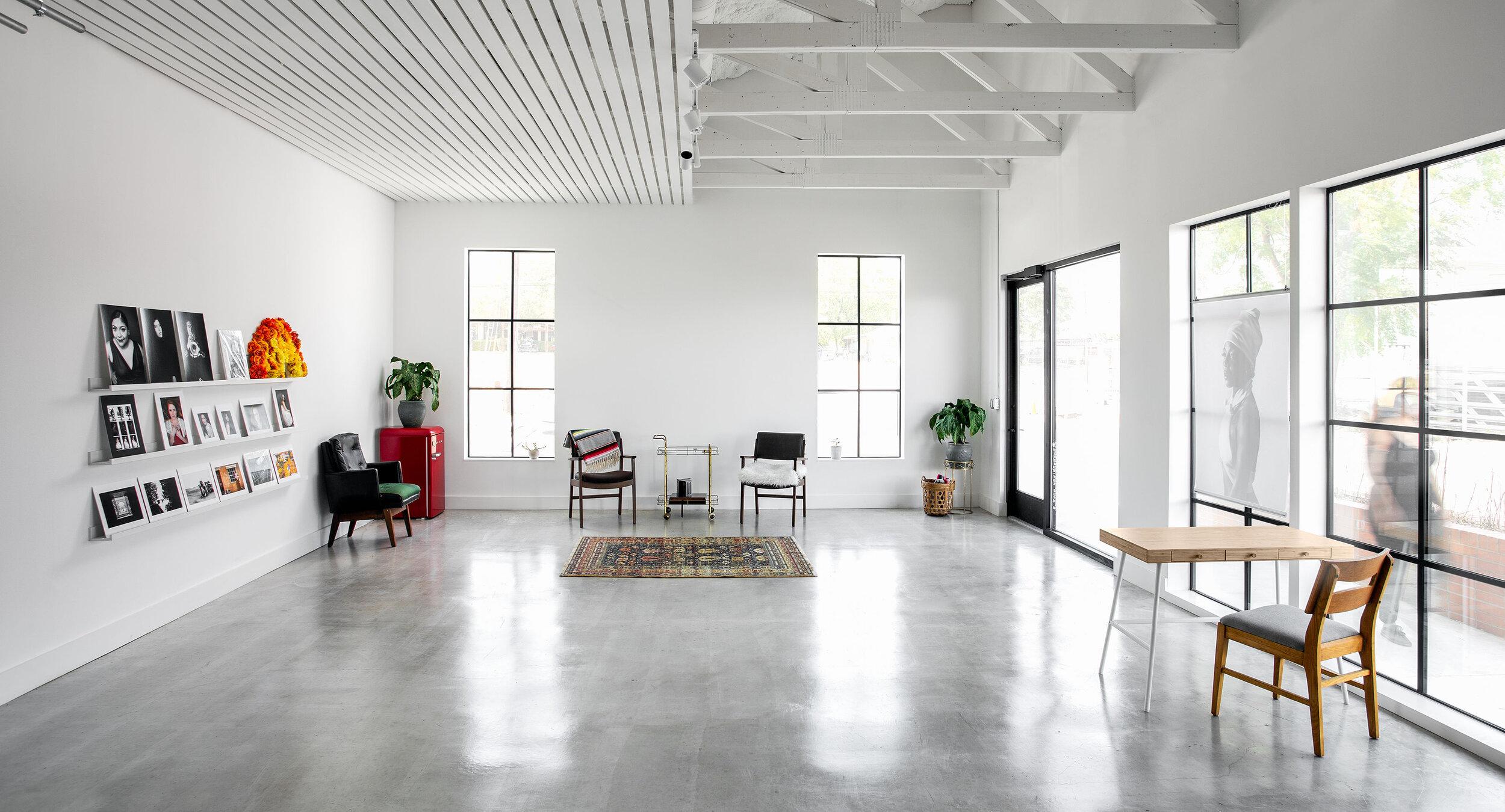 Our brand new studio in South Austin. Photo by: Sean Carranza
