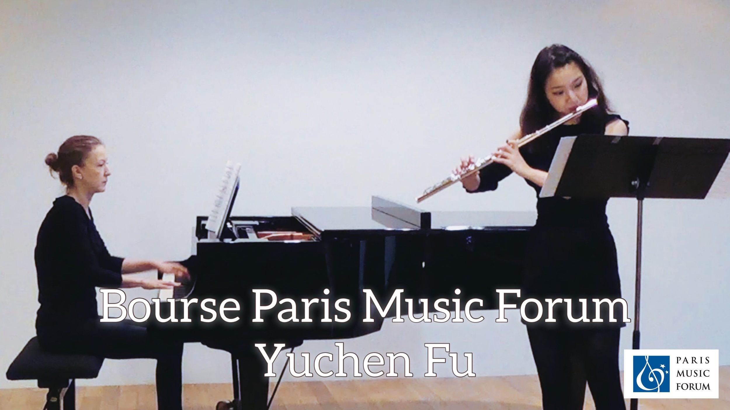 Bourse Paris Music Forum   Yuchen F U   Diplôme avec une Bourse* sous forme d'avoir-remboursement des frais d'hôtel dans la limite de 200 euros (voir ci-dessous pour les détails de la récompense)