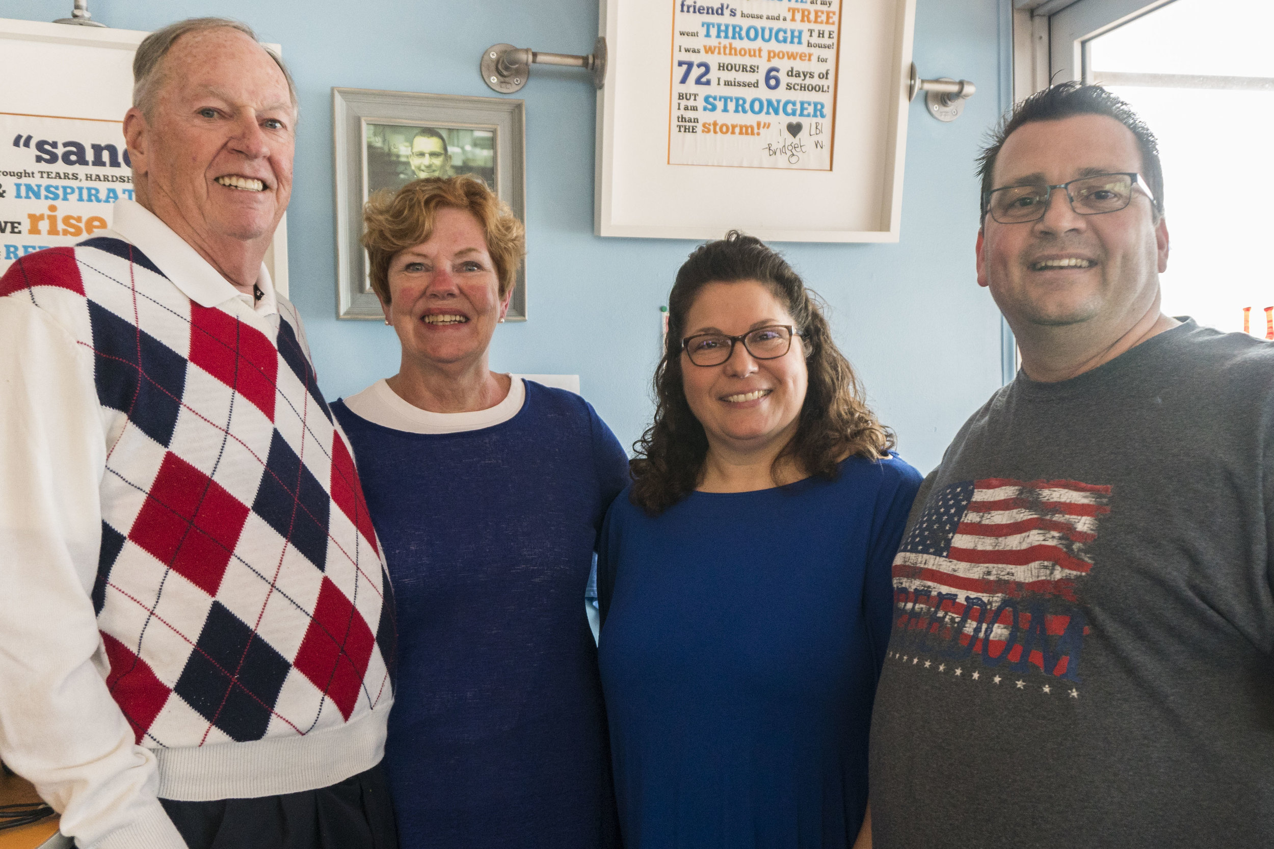 Bill and Carole Waldron (left) are the former owners of the LBI Pancake House. They sold the iconic breakfast spot to Christine and Victor Bilcik (right) in May of 2018.