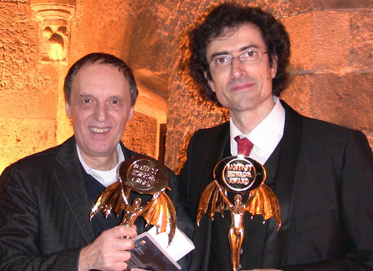Marco Werba con il regista Dario Argento