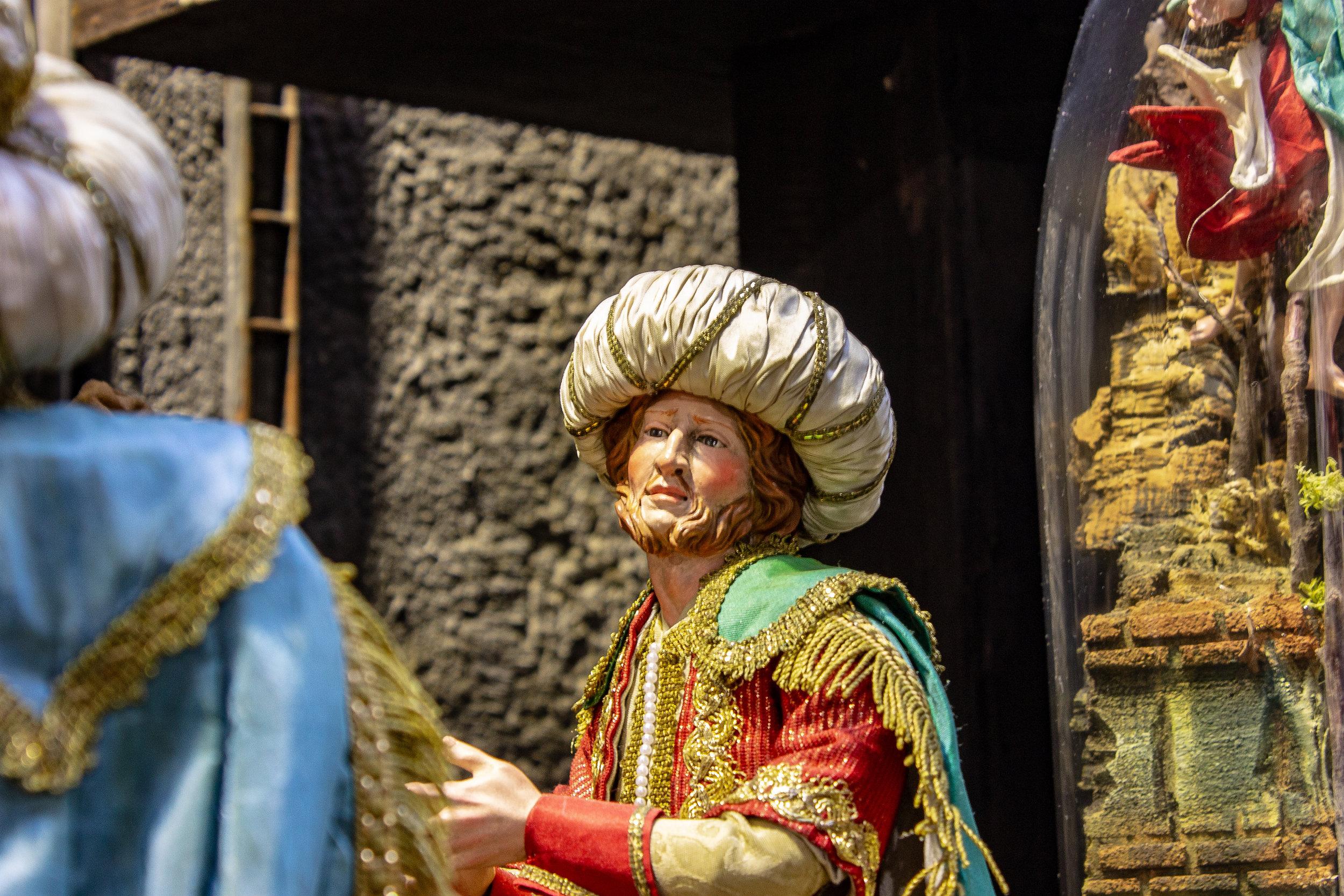 Statuina al mercato di San Gregorio Armeno
