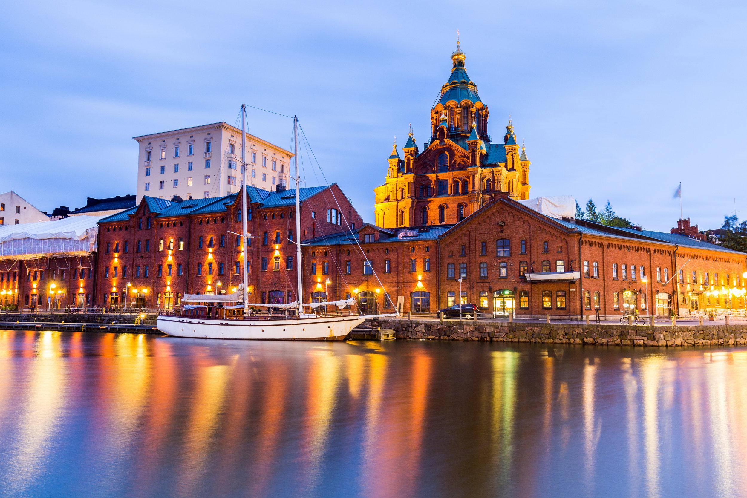 La cattedrale Uspenski ad Helsinki