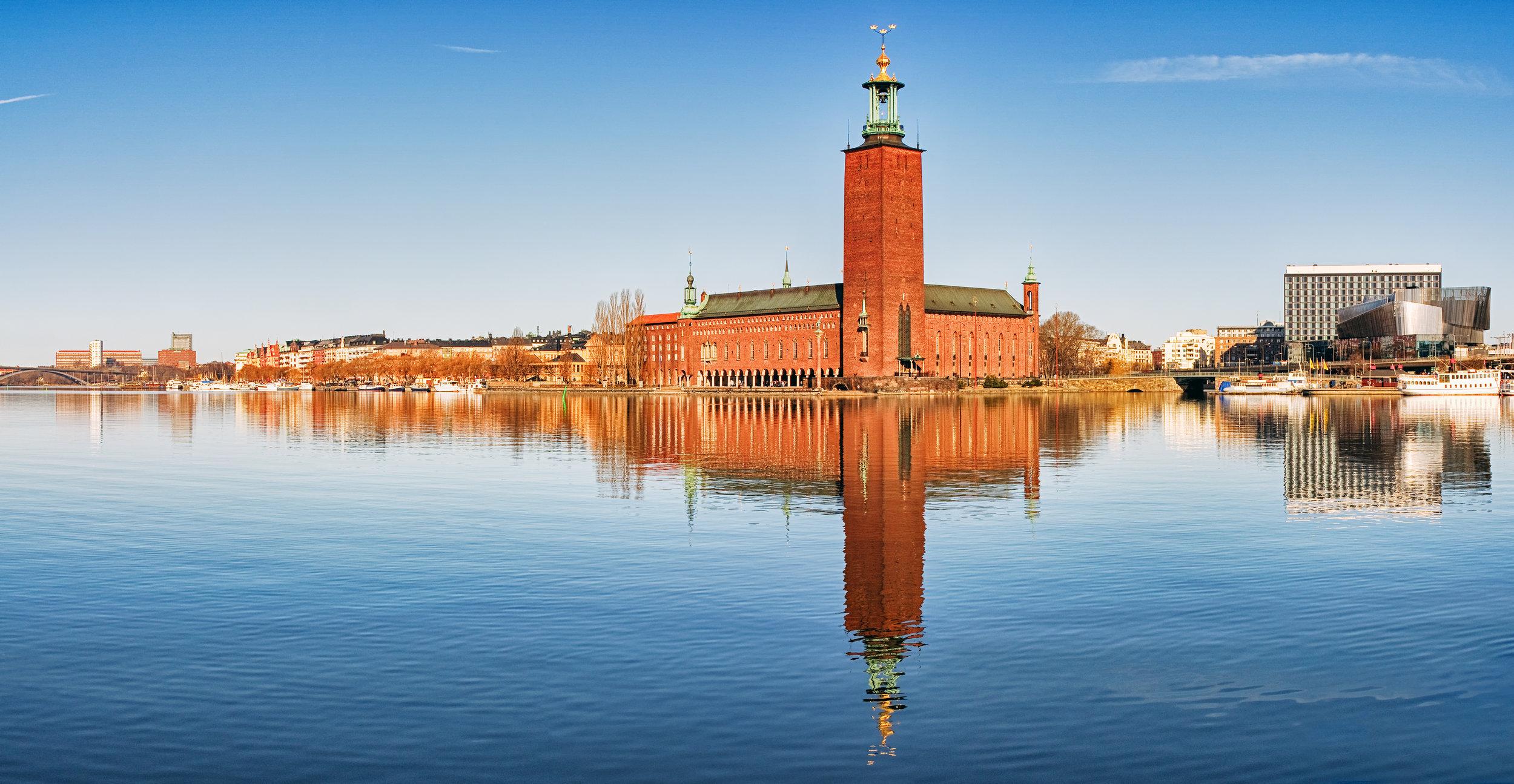 Il municipio di Stoccolma