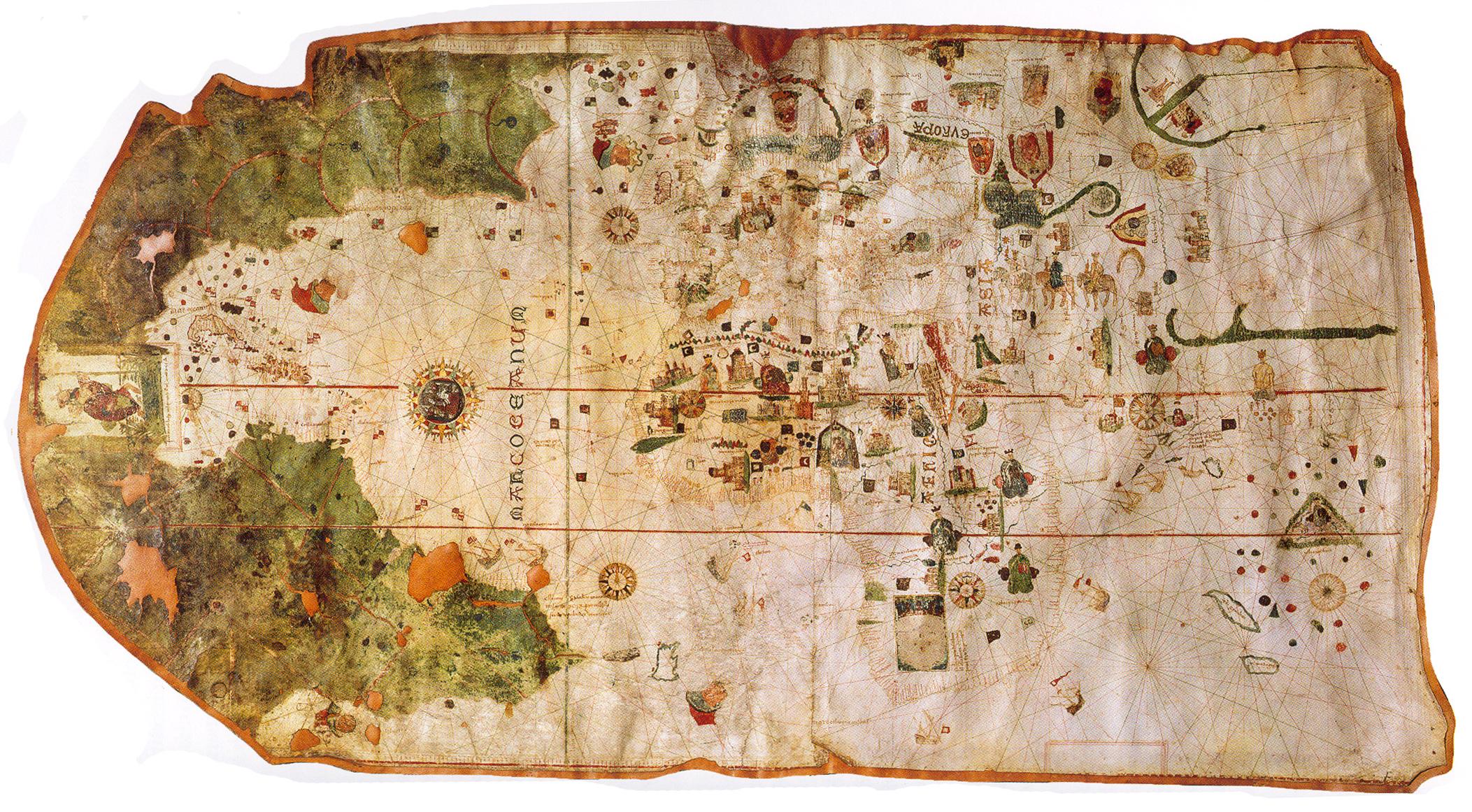 Il planisfero di Juan de la Cosa