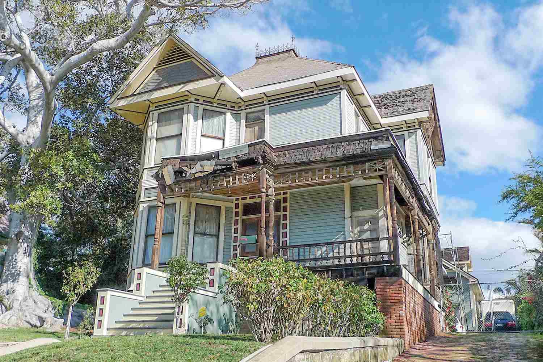 La casa di  Thriller , al 1350 di Carroll Avenue