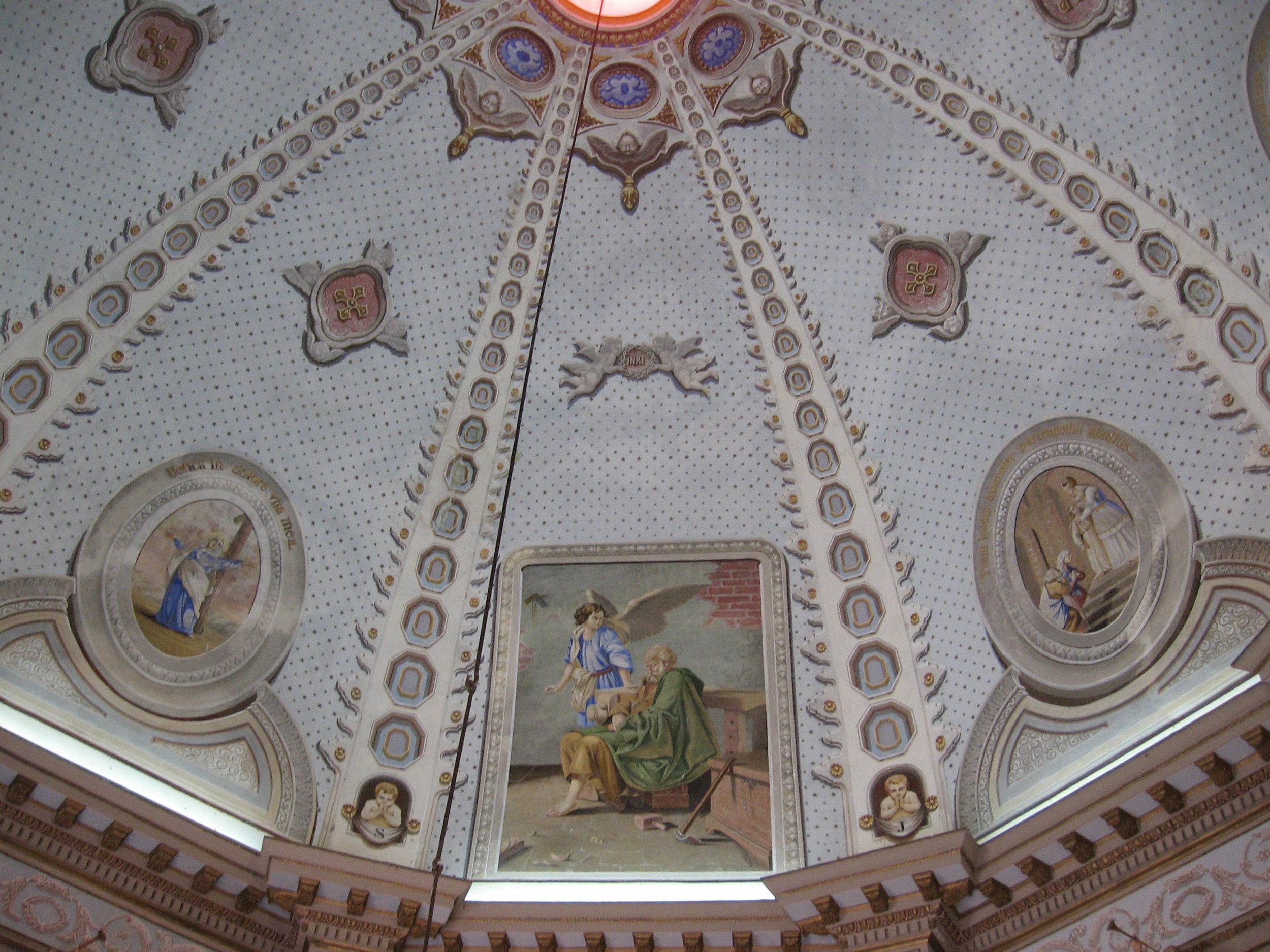 La cupola della Cappella di San Giuseppe