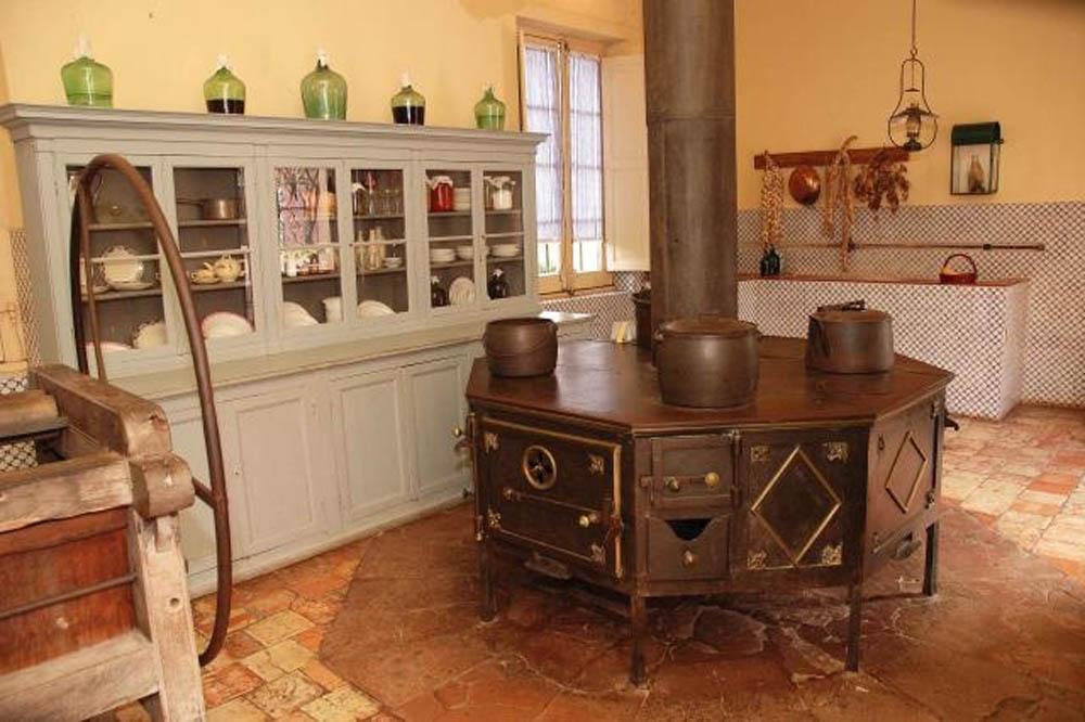 La cucina ottagonale