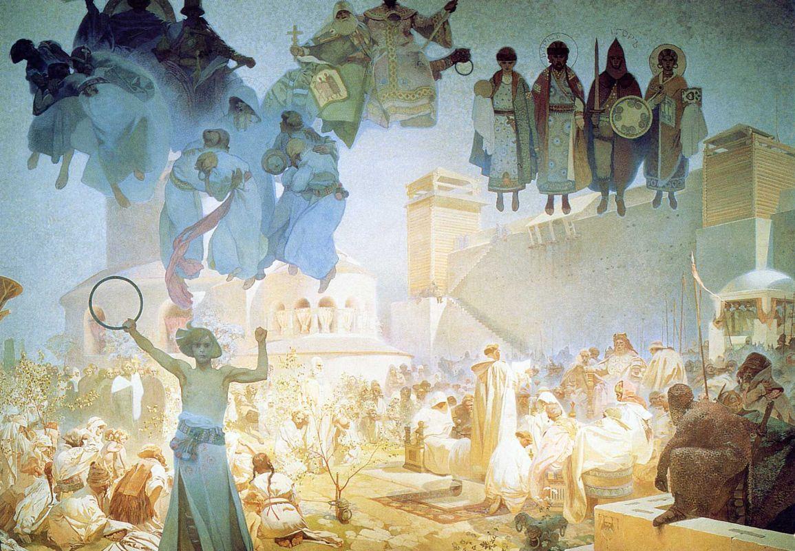 Introduzione alla liturgia slava, Epopea Slava n. 3, 1912