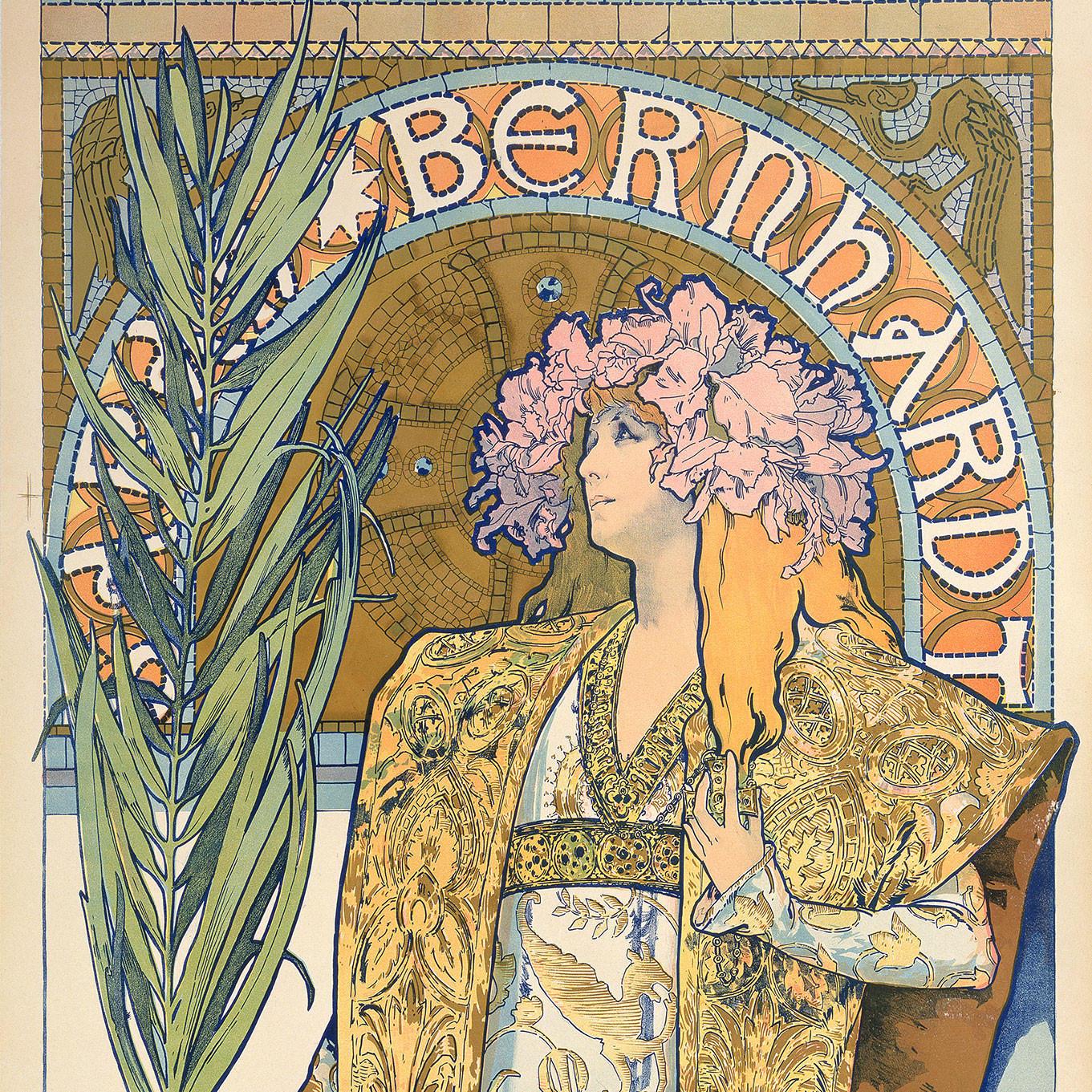Gismonda (dettaglio), 1894