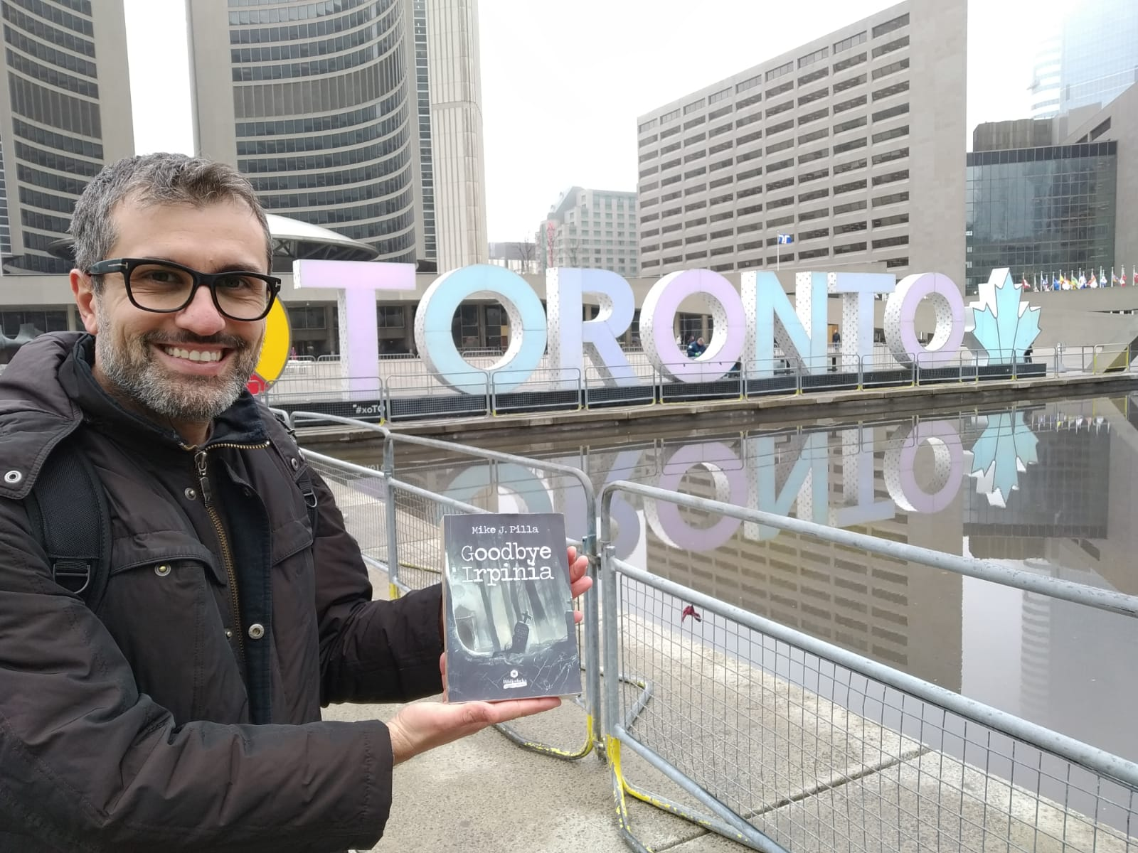 Mike J. Pilla a Toronto per presentare Goodbye Irpinia