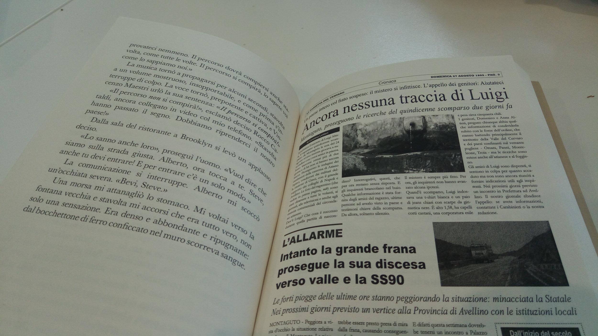 Goodbye Irpinia: la prima Paper Novel al mondo