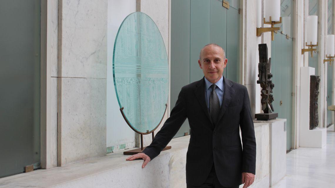 L'Ambasciatore Starace (Immagine: Ambasciata d'Italia a Tokyo)