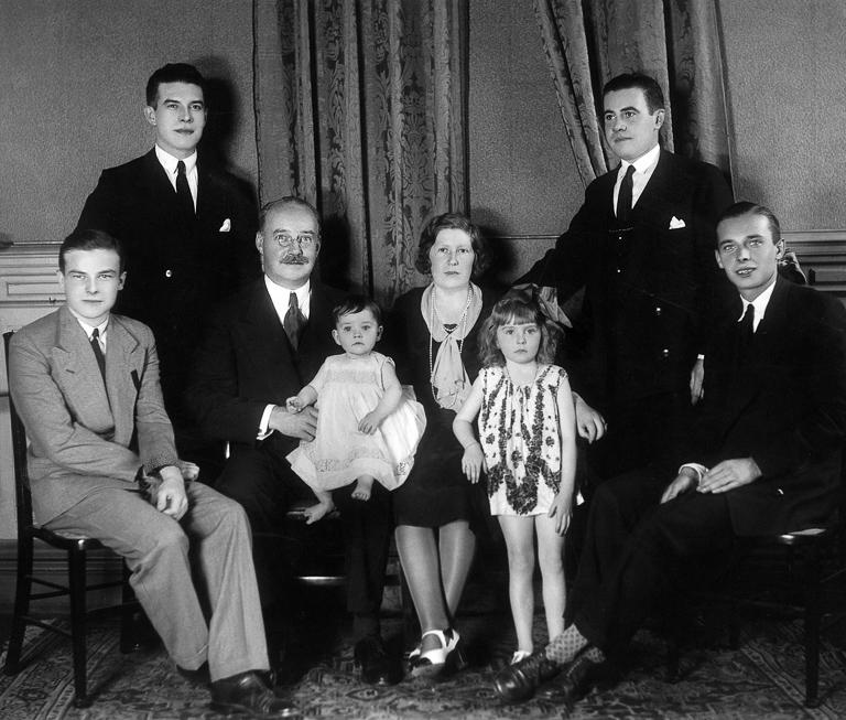La famiglia Walsh nel 1930