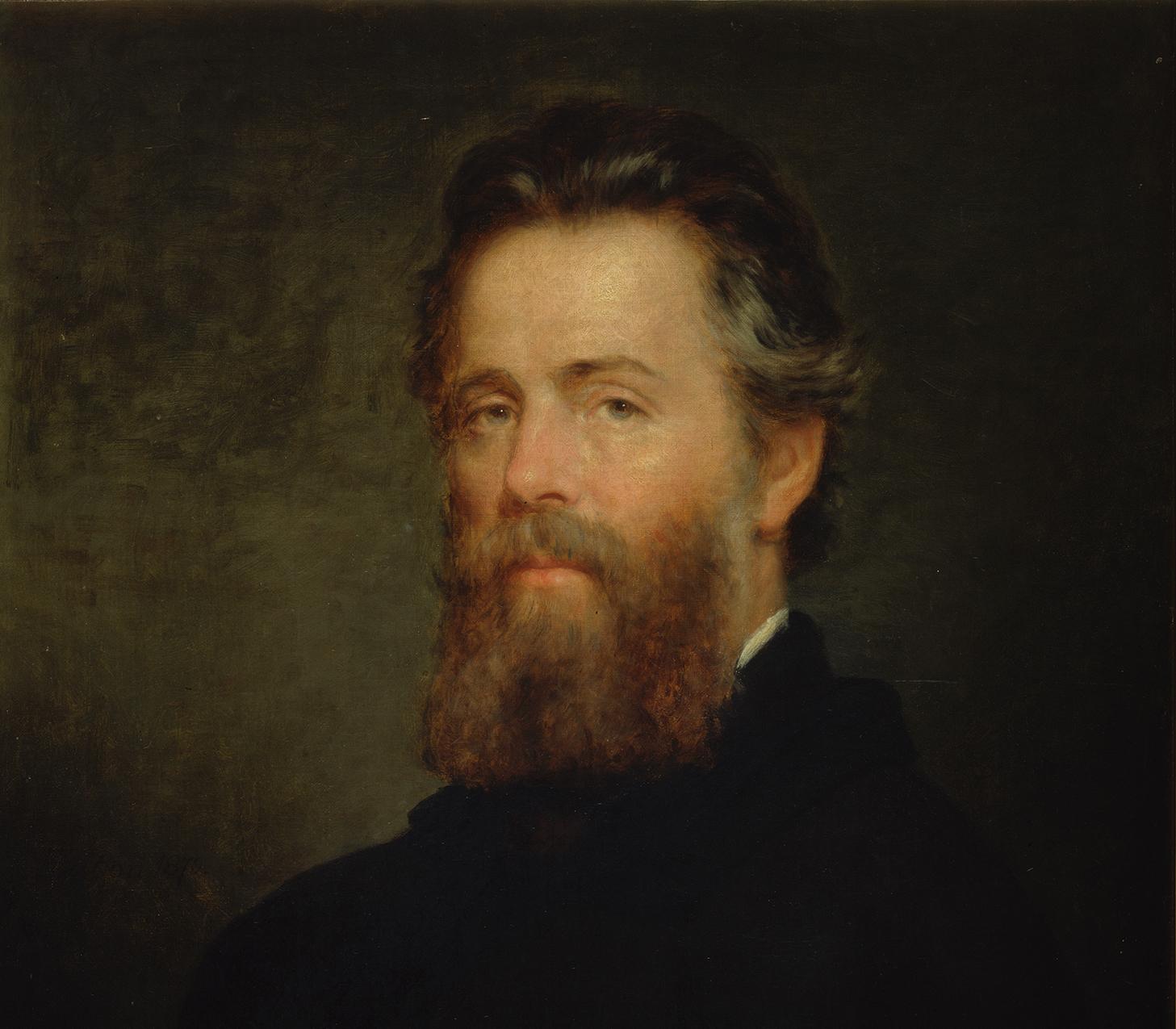 Herman Melville, ritratto di Joseph O. Eaton (dettaglio)