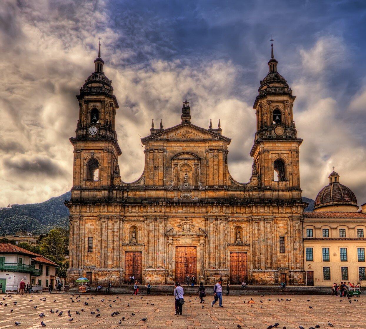 La cattedrale Primada a Bogotá