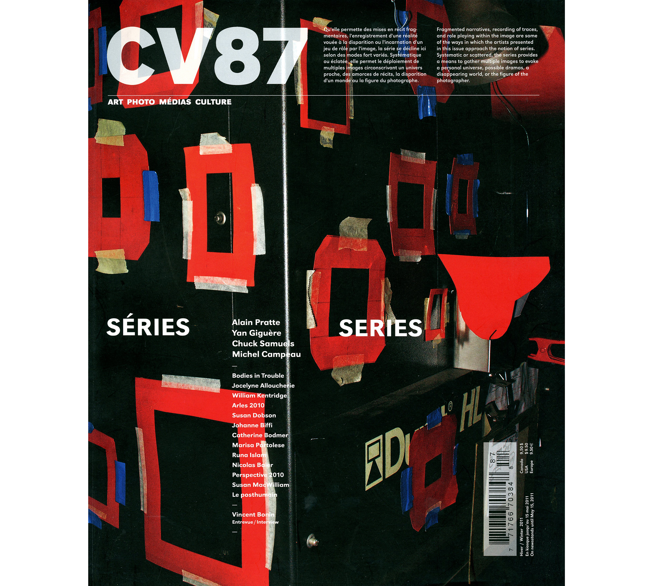 Ciel variable,  Séries , n° 87, Hiver 2011