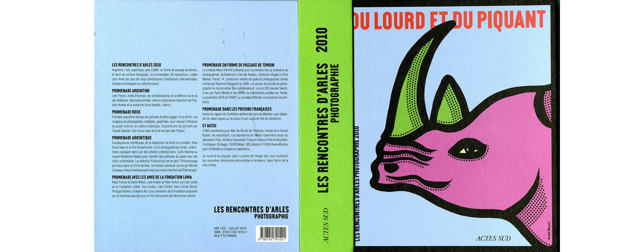«Du lourd et du piquant»   Catalogue des Rencontres d'Arles 2010 Céline Mayrand,  Photogénie du laboratorium   Éditions Actes Sud, Arles, France, juillet 2010, p. 216 à 222