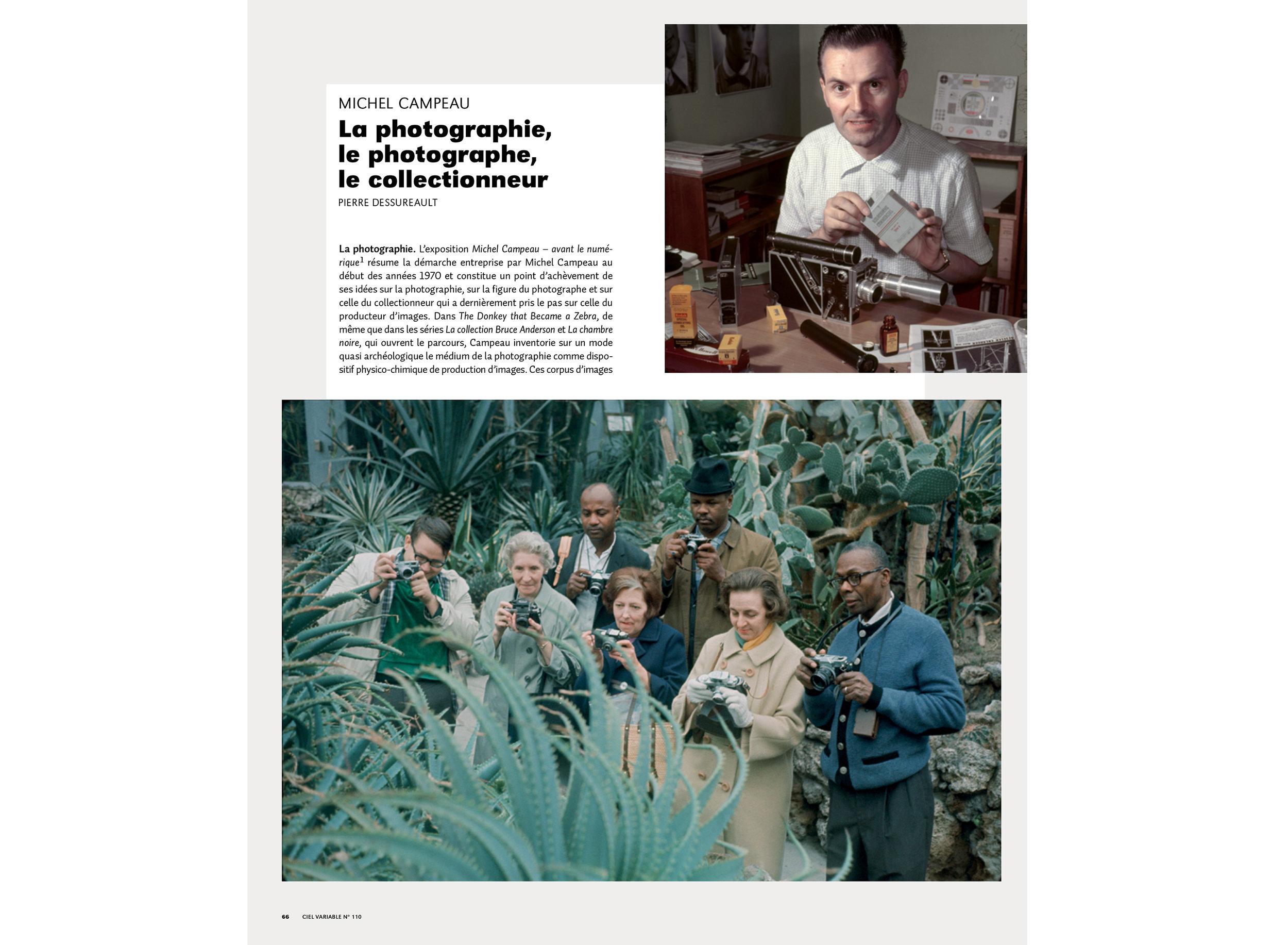 Pierre Dessureault | La photographie, le photographe, le collectionneur | CV110 | Michel Campeau-1.jpg