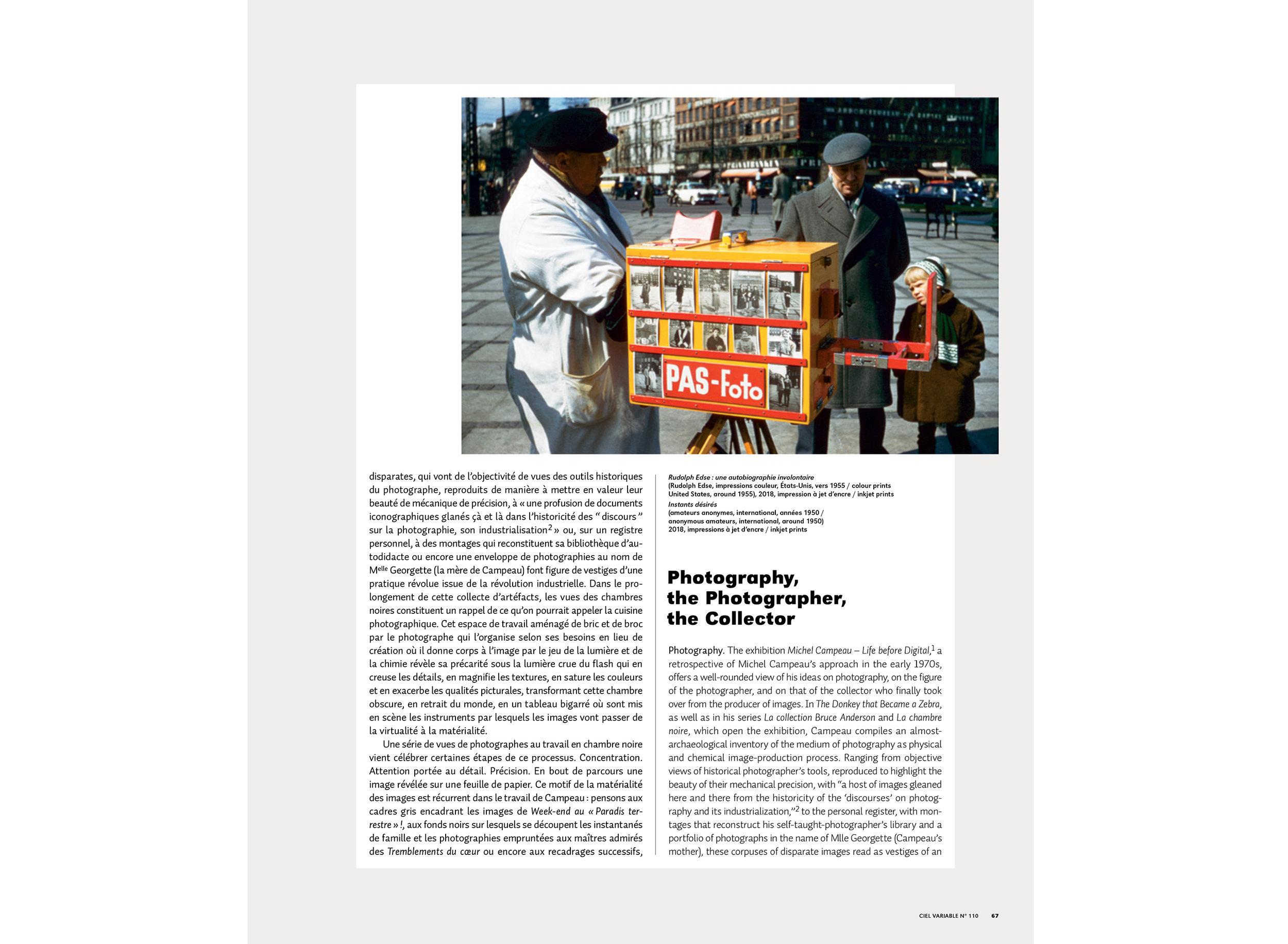 Pierre Dessureault | La photographie, le photographe, le collectionneur | CV110 | Michel Campeau-2.jpg