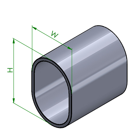 Round-Rectangular Shape