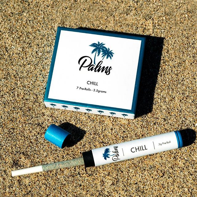 Sometimes you need a whole pack and other times you just want one.🌴🌴🌴 Our CHILL pre-rolls are perfect for a relaxing night at home and will help get you through the week #prerolls #palmspremium