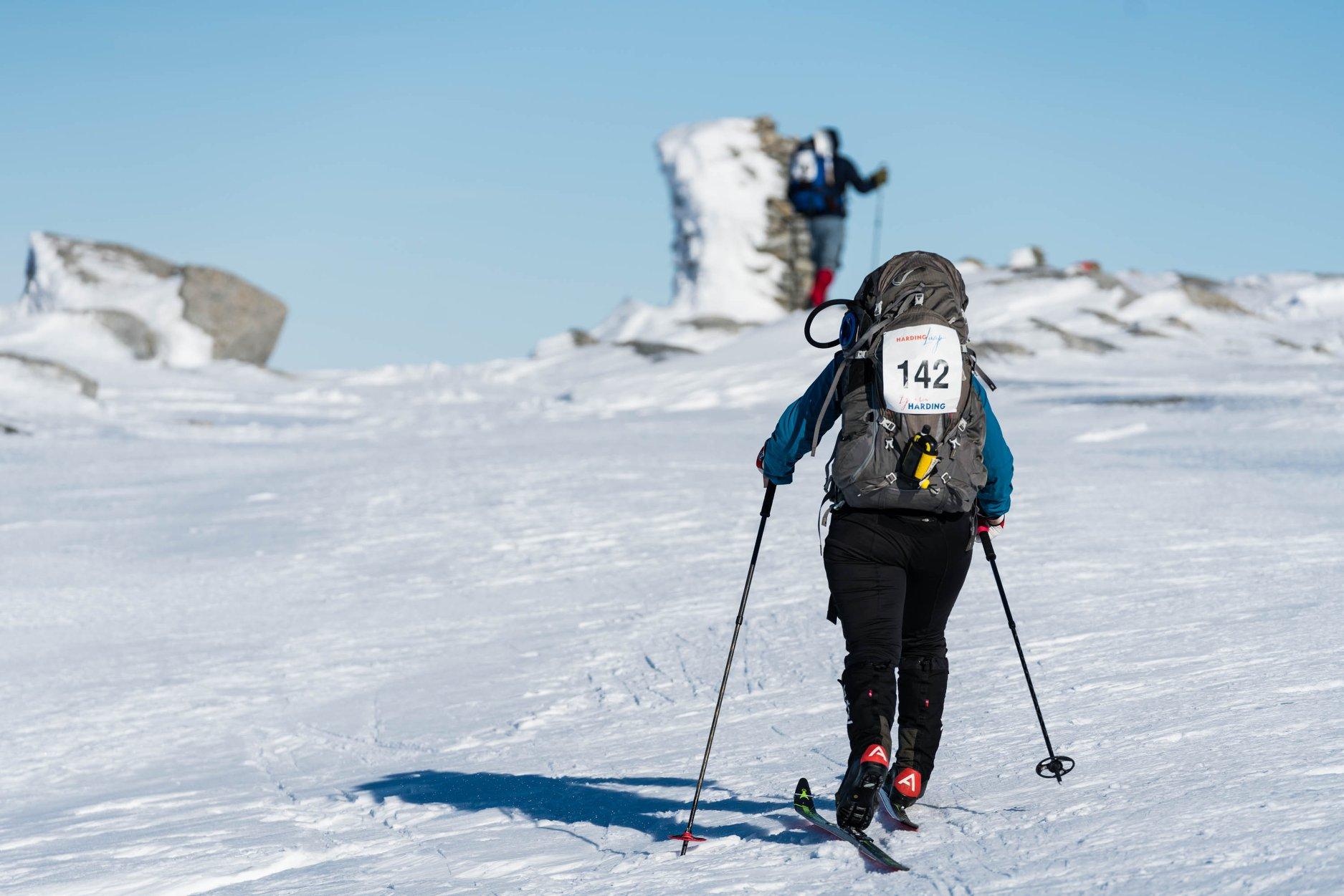 Strenge krav til deltakarar, crew og arrangørar av Hardinglaup. Foto: Høyde media