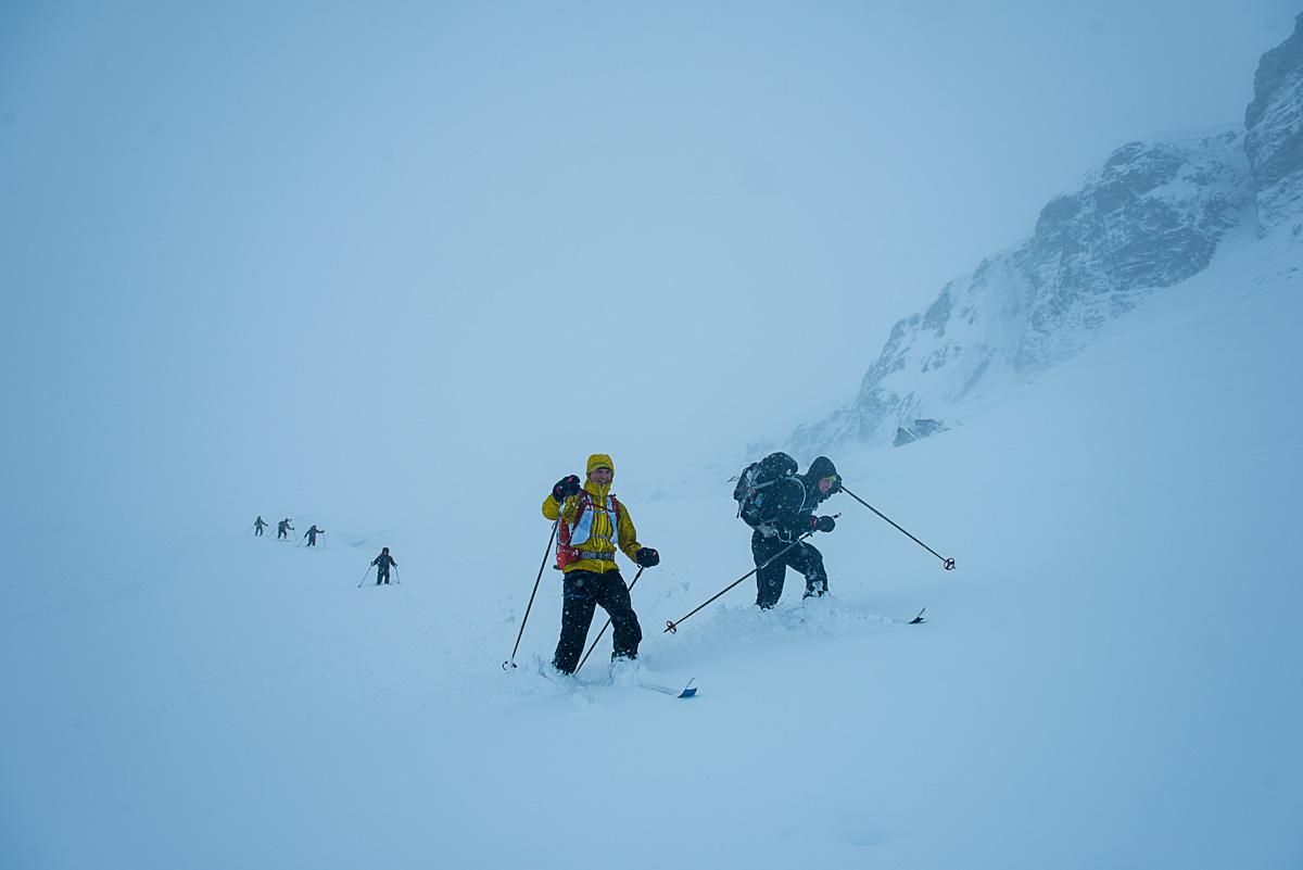 Umerkt og krevjande høgfjellsterreng byd på solid utfordring. Foto: Vegard Breie