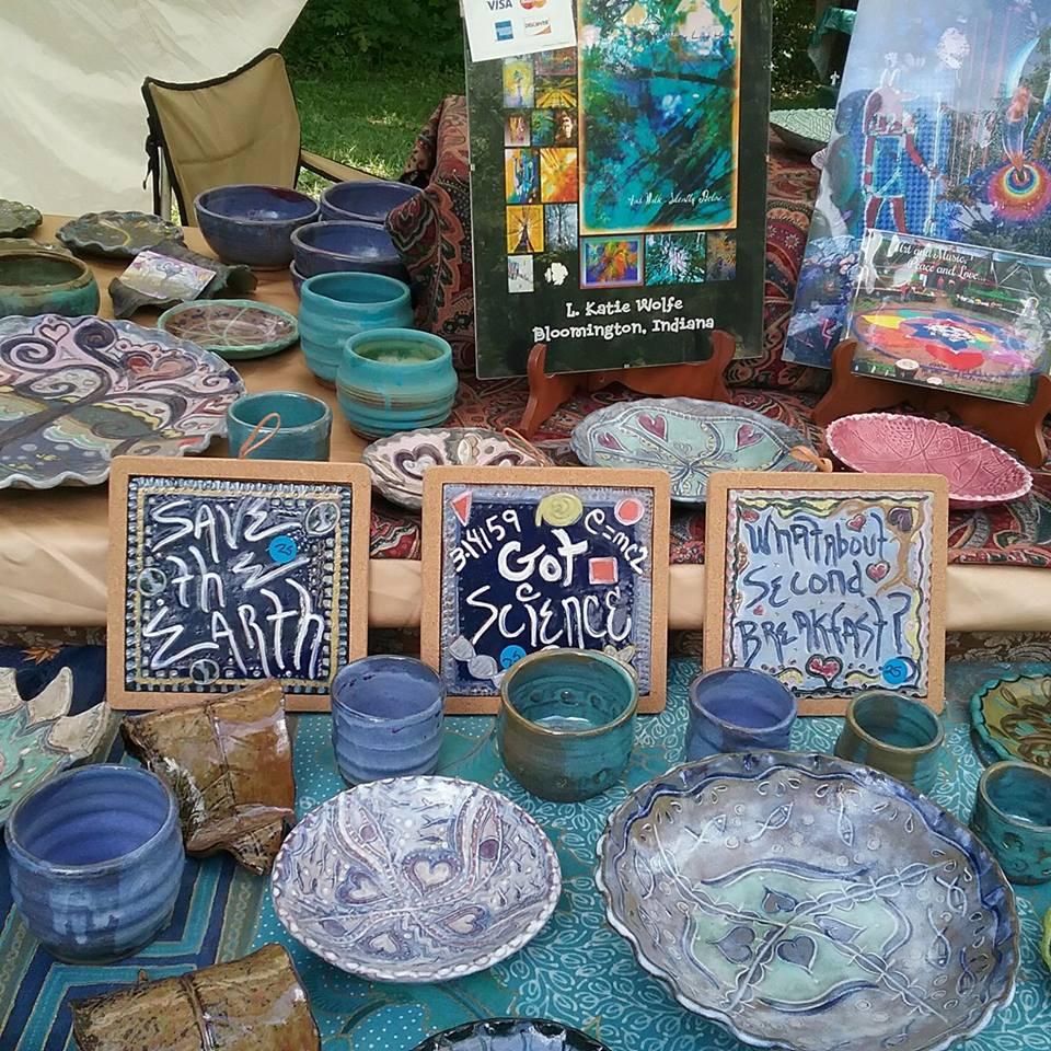 Katie's Art and Clay - Handmade ceramic wares. Fun, funky and functional. Made from strong, durable stoneware.