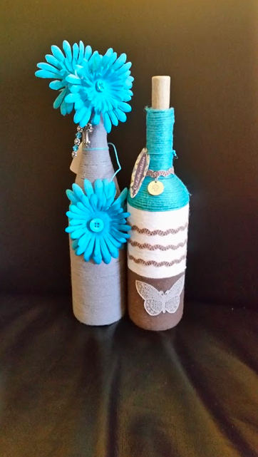 BITS & PIECES - Mother/Daughter craft artists. Block sayings, jewelry, magnets, and wine bottle decor.