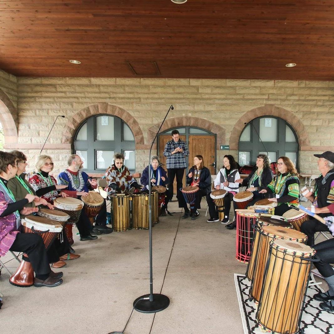 Shekinah Rhythm Instruments/Shamaniacs Drum Troupe - Building African Style Drums since 1992.Teacher and co creator of Shamaniacs Drum troupe, Muncie Indiana.