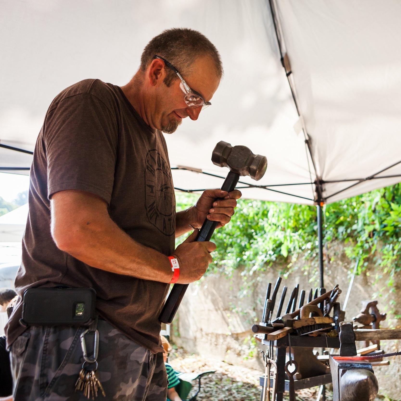 King Forge - Steve King, Blacksmithing since 2003