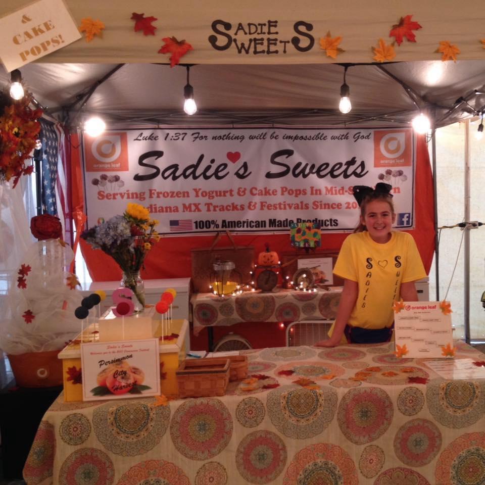 SADIE'S SWEETS - Cake pops, orange leaf, water, edible cookie dough, lemon shakers shake ups, ect.