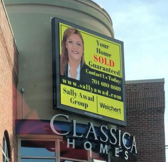 Sally Awad Group Digital Sign