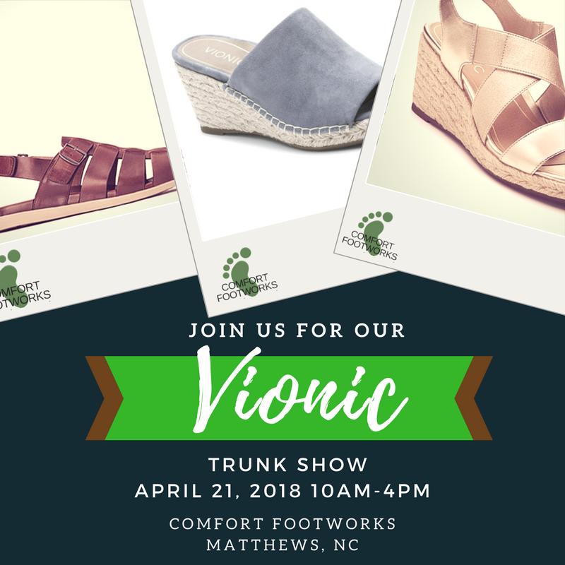 Comfort Footworks Event Invite
