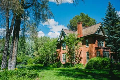 A classic Victorian in the West End built during Aspen's silver mining days.