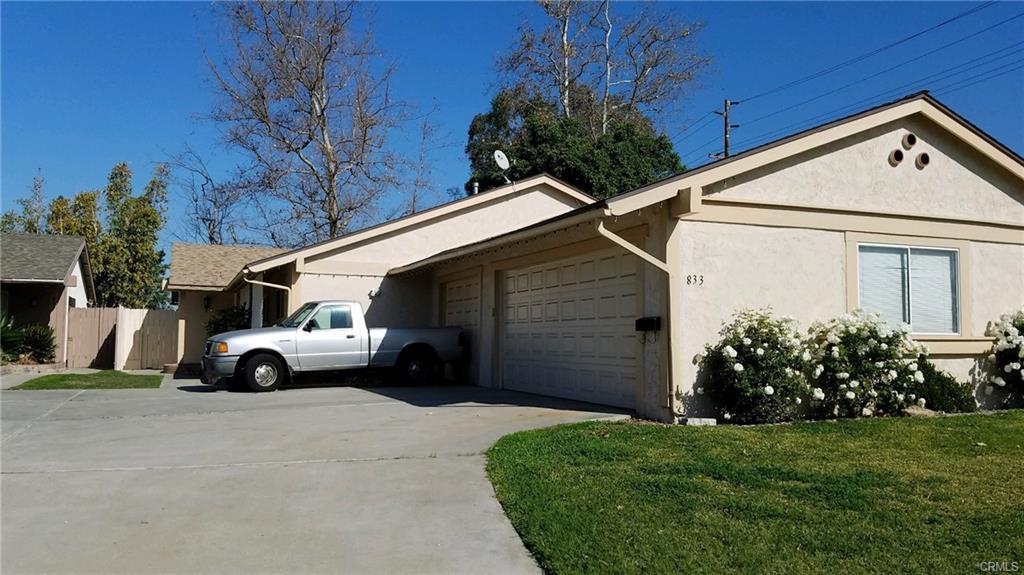 833 E Fairway Dr, Orange   $787,500  2 Units | $399,500/unit | $49,200 GSI | 2,195 SqFt | Built in 1972 | $358.77/sqft