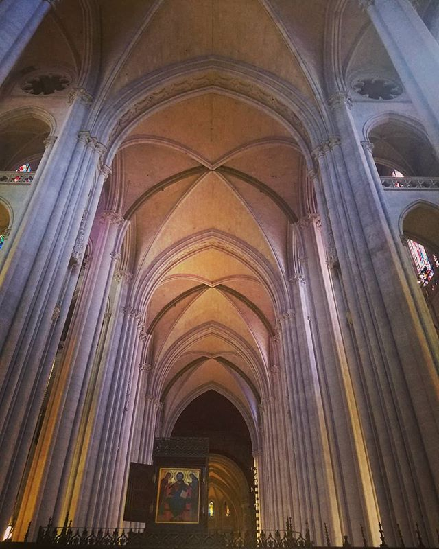 Inside of a cathedral in Manhattan NYC.  #architecture #gothic #gothicstyle #revivalist #manhattan #newyork #coolbuildings